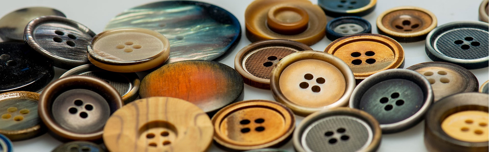 High Quality Buttons | Polyester Buttons | Laser Engraved Tagua Buttons | Italian Designer Buttons